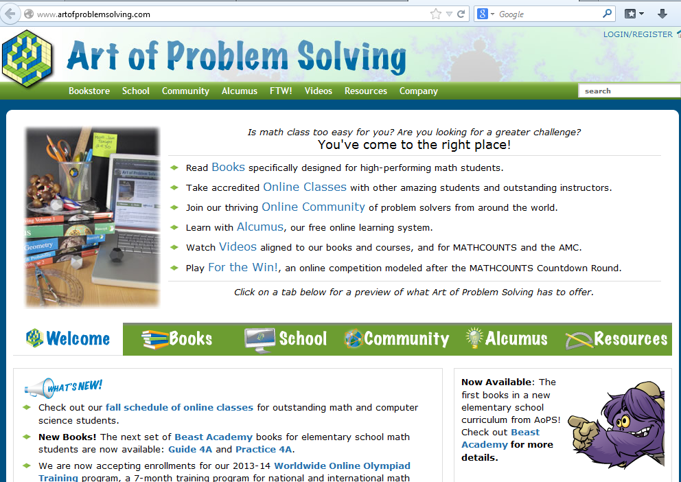 Art_of_Problem_Solving_Site
