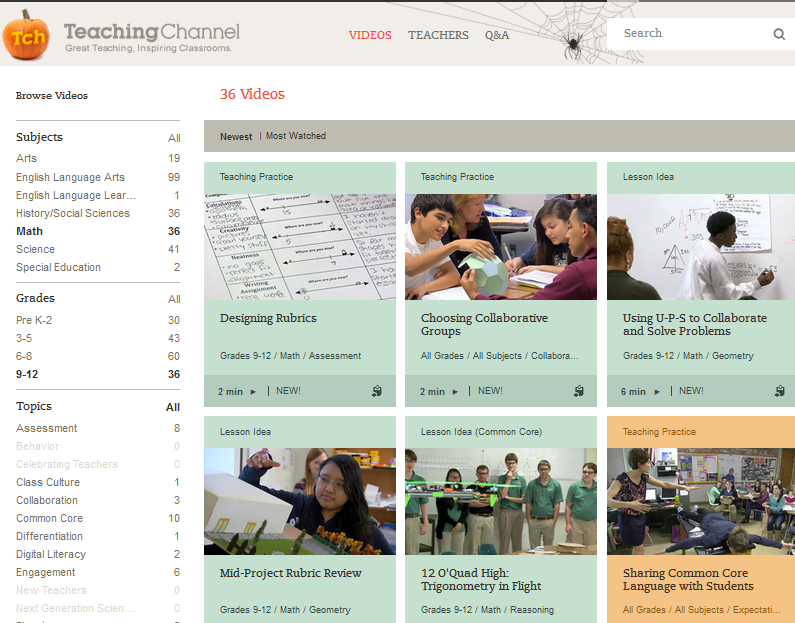 TeachingChannelScreenshot