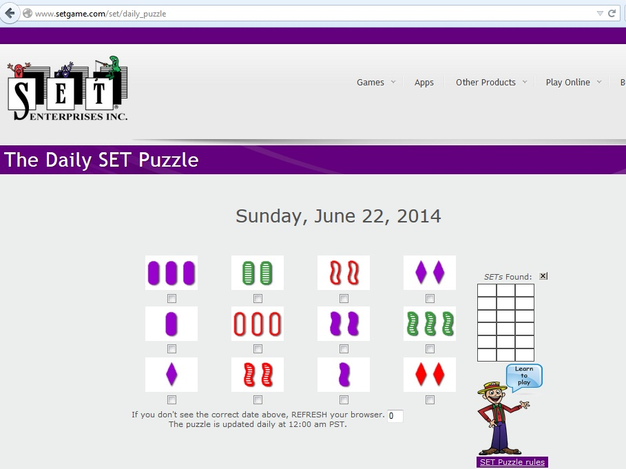 Daily_SET_Game_Puzzle